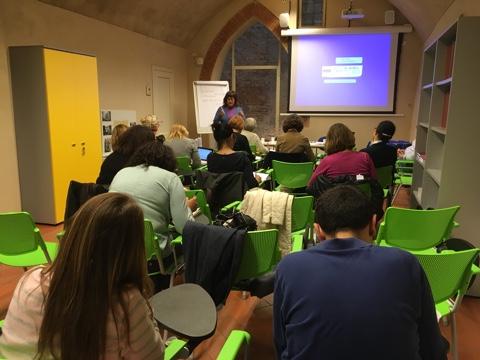 Uno dei seminari per docenti tenuti dalla Professoressa Barbara Henry