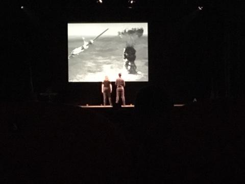 """Un momento dello spettacolo """"Europa: che Passione!"""" al Teatro Moderno di Grosseto"""